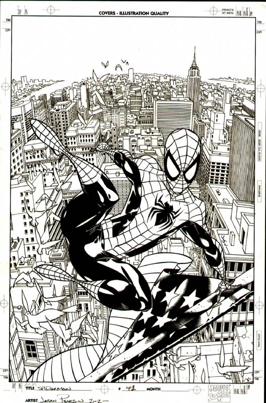 Amazing Spider-Man #482 Cover  SOLD SOLD SOLD!